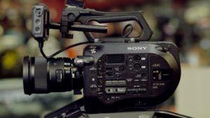 Eksponering Sony fs7